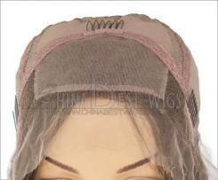 silk top glueless wig
