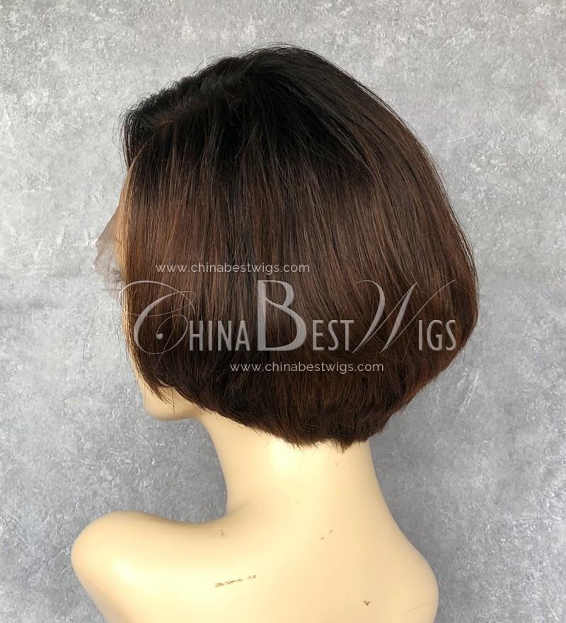 N88 Short Bob Cut Wig Ombre color wholesale human hair wigs - photo #49