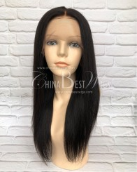 48cafd3b4aa HWS-140 150% density Natural Straight Natural Hairline Wholesale ...