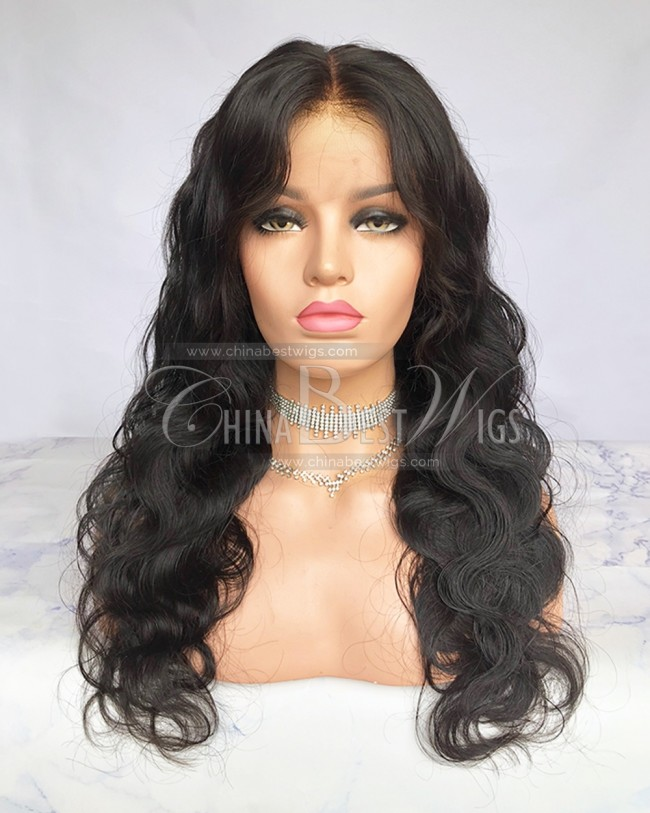 HWS-218  Body Wave 150% Density Virgin Human Hair 360 Wigs